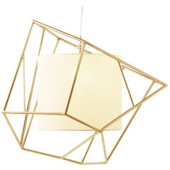 Star I Suspension Lamp Brass