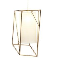 Star II Suspension Lamp Brass