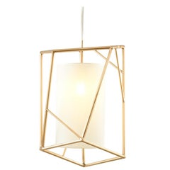 Star III Suspension Lamp Brass