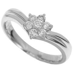 Star Jewelry Platinum Diamonds Ring