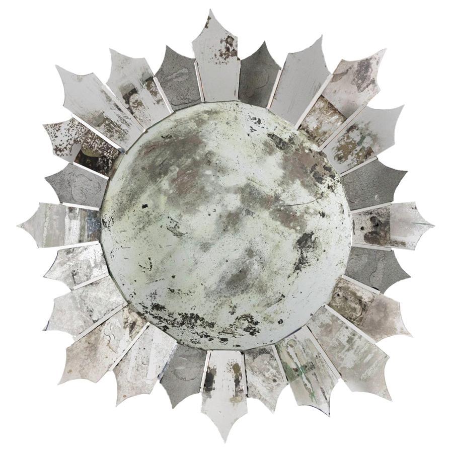Star Mirror, Slightly Oxidized, Contemporary Work