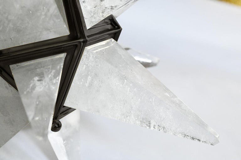 Star Rock Crystal Chandelier by Phoenix In Excellent Condition For Sale In New York, NY