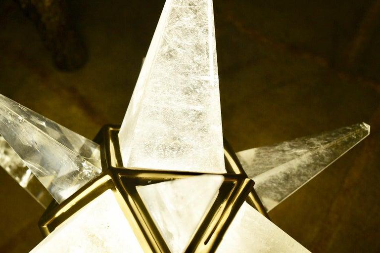 Star Rock Crystal Chandelier by Phoenix 2