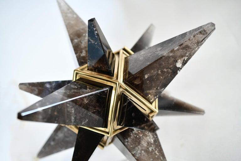 Star Rock Crystal Chandelier by Phoenix For Sale 4