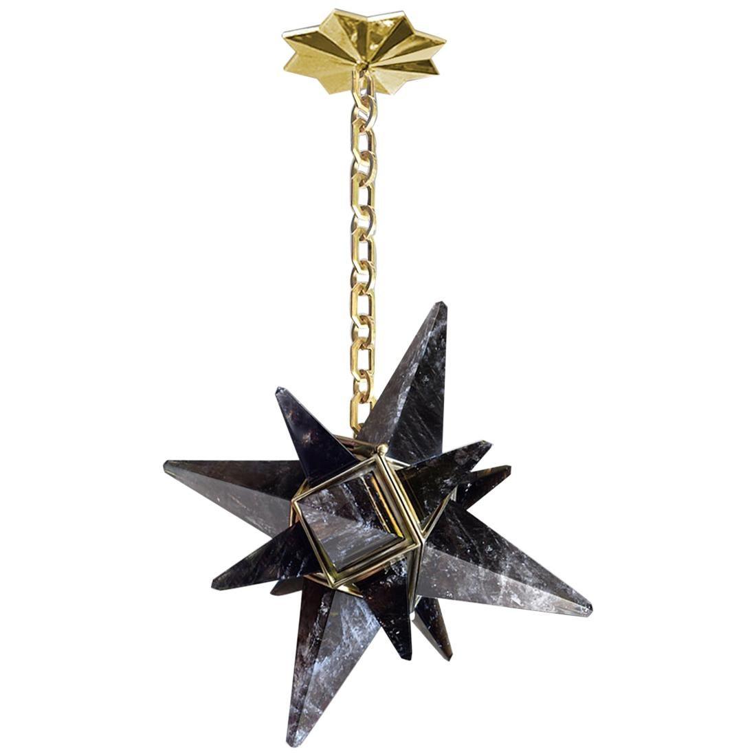 Star Rock Crystal Chandelier by Phoenix