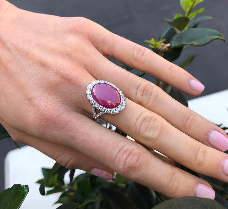 Star Ruby Ring  For Sale 5