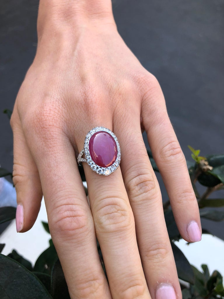 Star Ruby Ring  For Sale 6