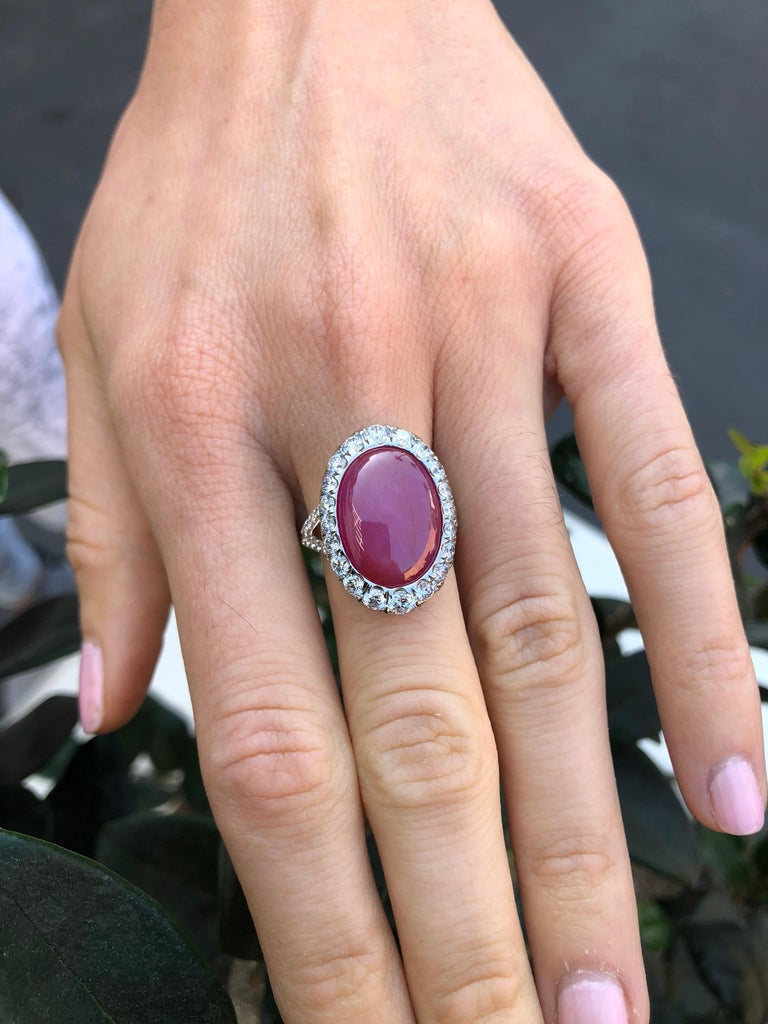 Star Ruby Ring  For Sale 7