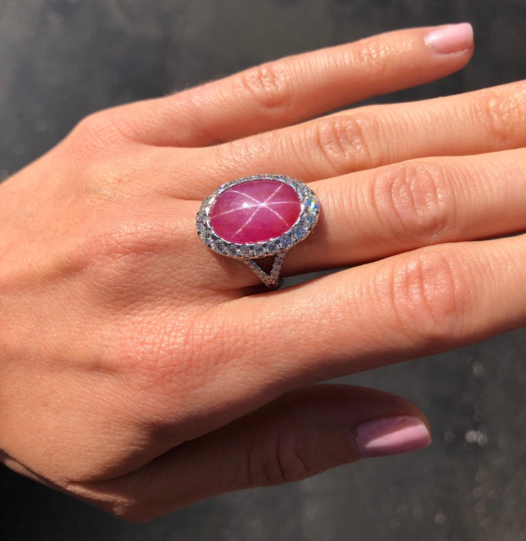 Star Ruby Ring  For Sale 1