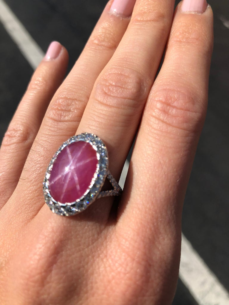 Star Ruby Ring  For Sale 2