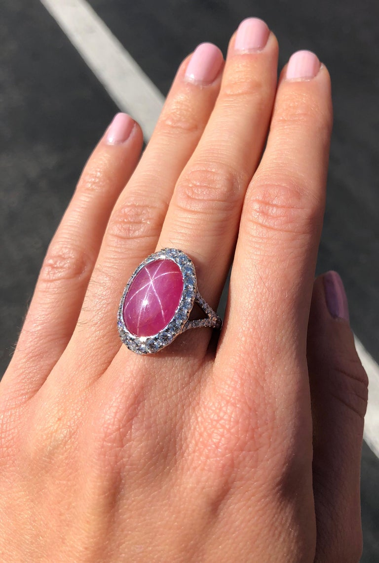 Star Ruby Ring  For Sale 3