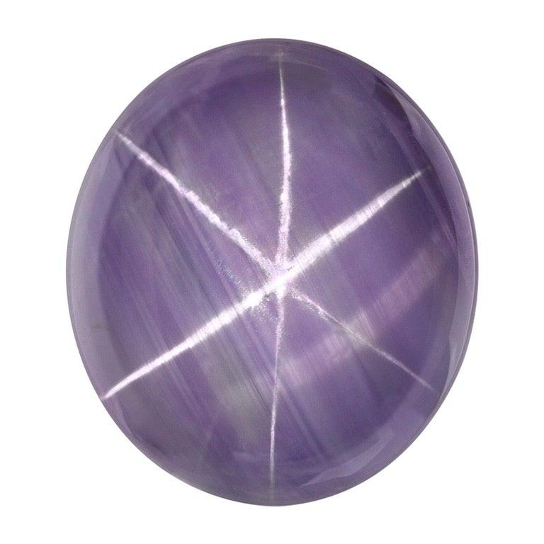 Star Sapphire Ring Gem 11.53 Carat No Heat Unset Loose Gemstone For Sale