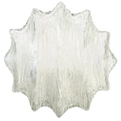 Star Shaped Murano Glass Flushmounts or Sconces