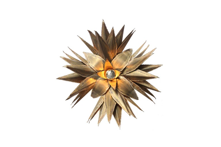 Hollywood Regency handmade fixtures.