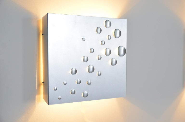 Mid-Century Modern Star Shower Wall Sconce by Jelle Jelles for RAAK, Amsterdam For Sale