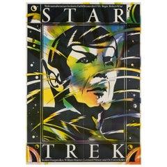 Star Trek Original East German Film Poster, 1985
