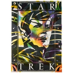 Star Trek Original East German Film Movie Poster, 1985