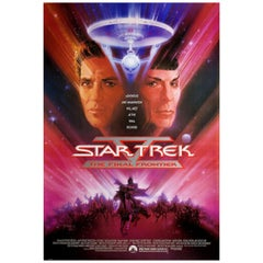 Star Trek V The Final Frontier 1989 U.S. One Sheet Film Poster