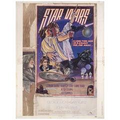 Star Wars 1977 U.S. 30 by 40 Film Poster
