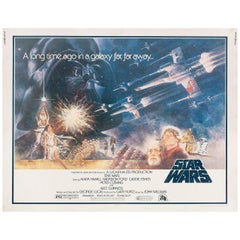 Star Wars 1977 U.S. Half Sheet Film Poster
