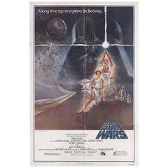 """Star Wars"" 1977 U.S. One Sheet Film Poster"