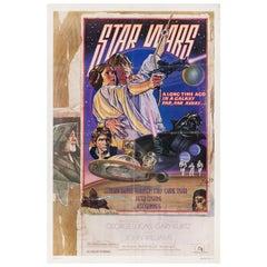 Star Wars 1977 U.S. One Sheet Film Poster