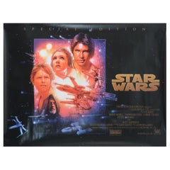 """Star Wars"", '1997r' Poster"