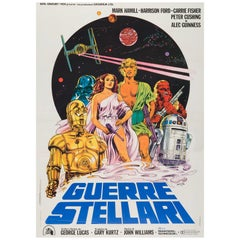 Star Wars Original Italian Film Poster, 1977