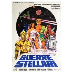 Star Wars Original Italian Film Poster, 1977, Large