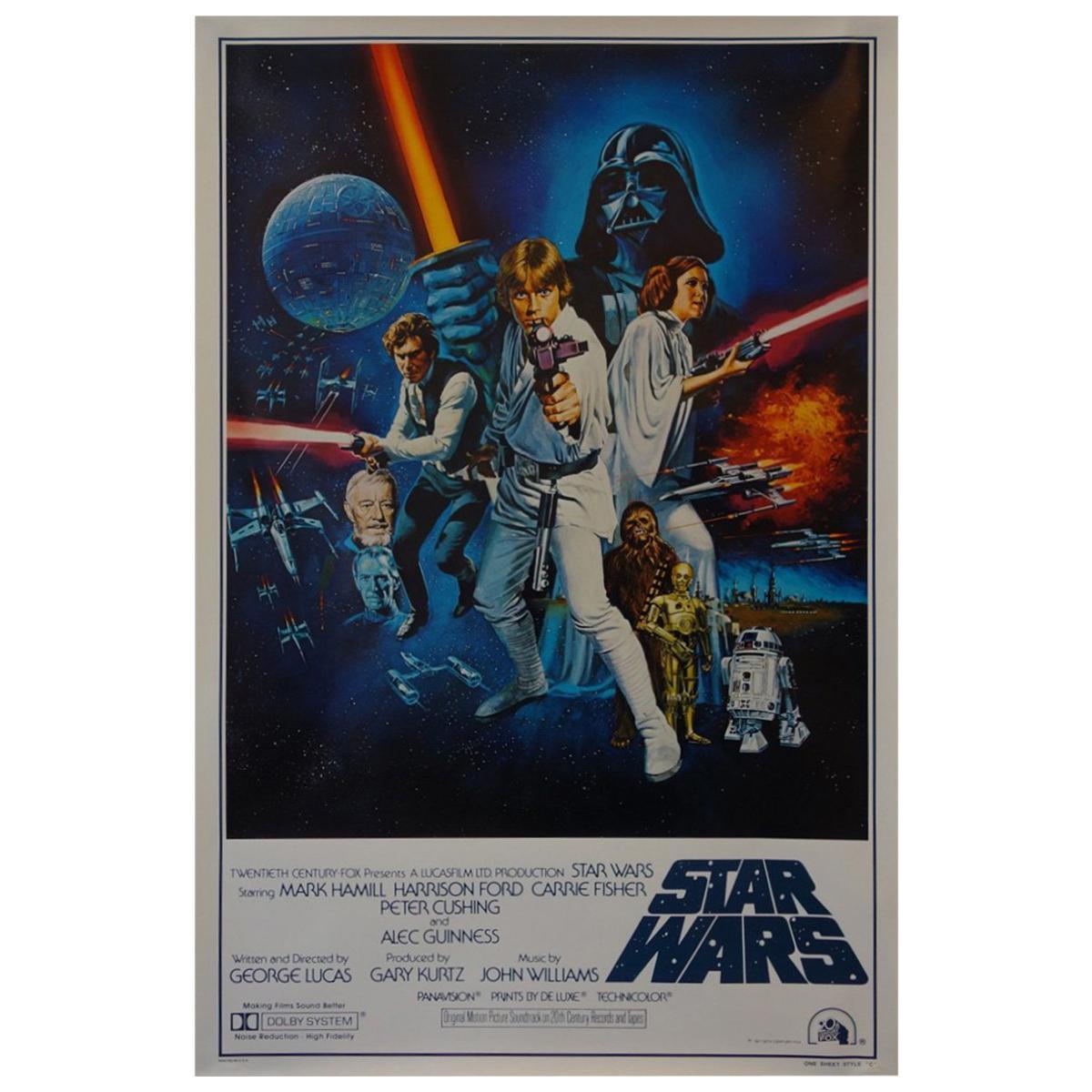 Star Wars, Poster, 1977
