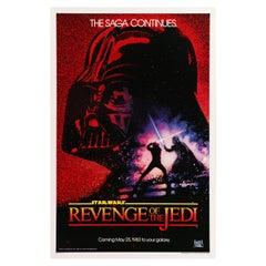 "Star Wars ""Return of the Jedi"" Original Vintage US One Sheet Movie Poster, 1983"