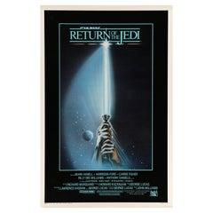 Star Wars 'Return of the Jedi' Original Vintage US One Sheet Movie Poster, 1983
