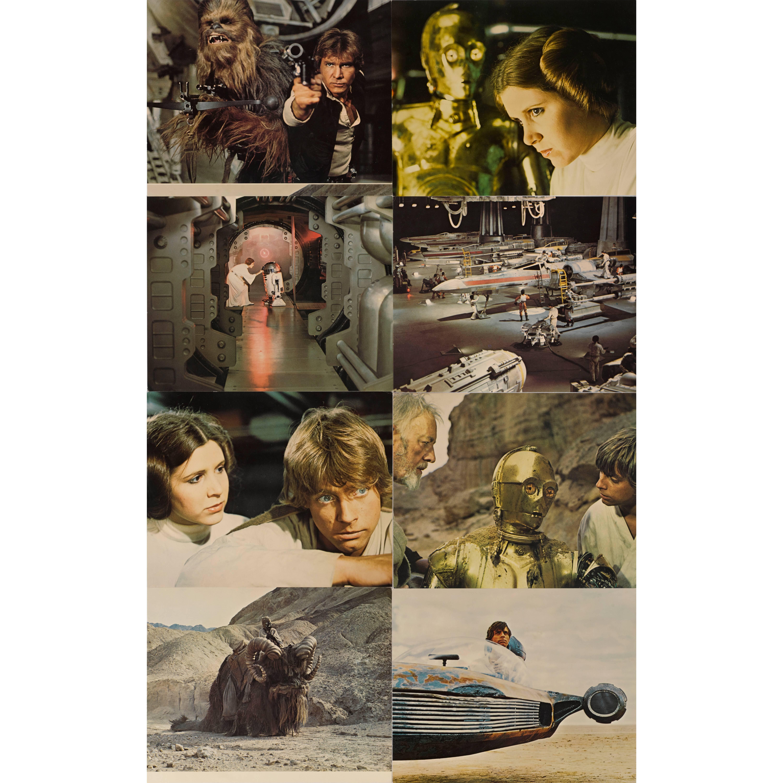 """Star Wars"" Set of Eight Mini Lobby Cards"