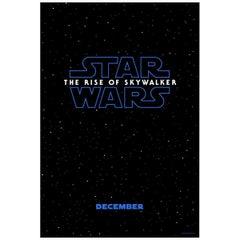 """Star Wars: The Rise Of Skywalker"", '2019' Poster"