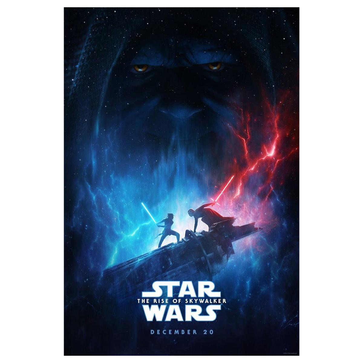 Star Wars The Rise Of Skywalker '2019' Poster