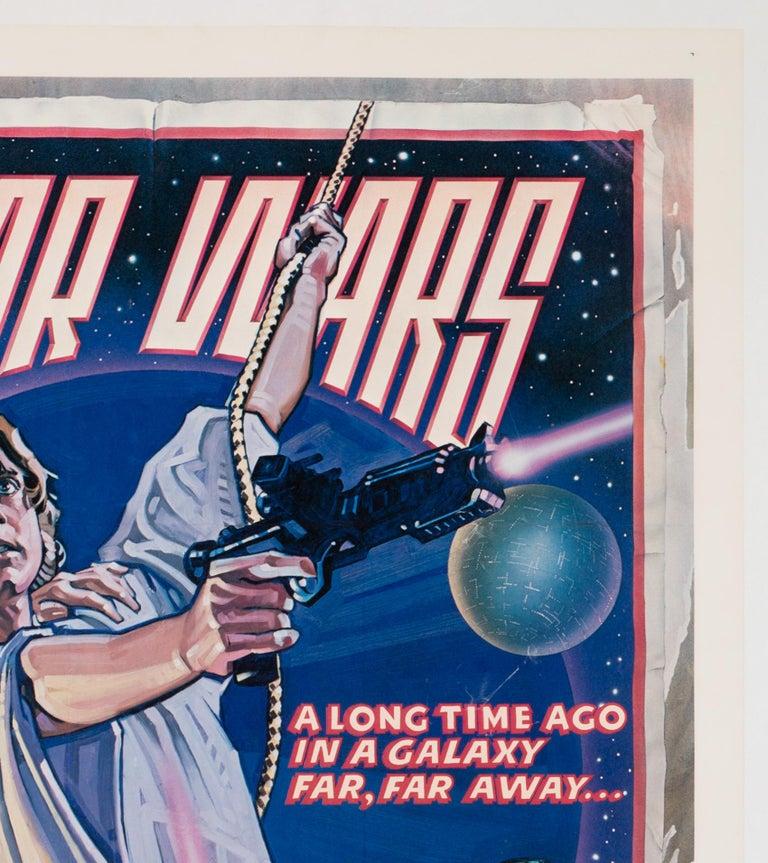 Star Wars US 1 Sheet Style D Original Film Movie Poster, Struzen, 1977 For Sale 1