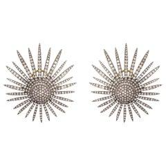 Stardurst Diamond Stud Earrings