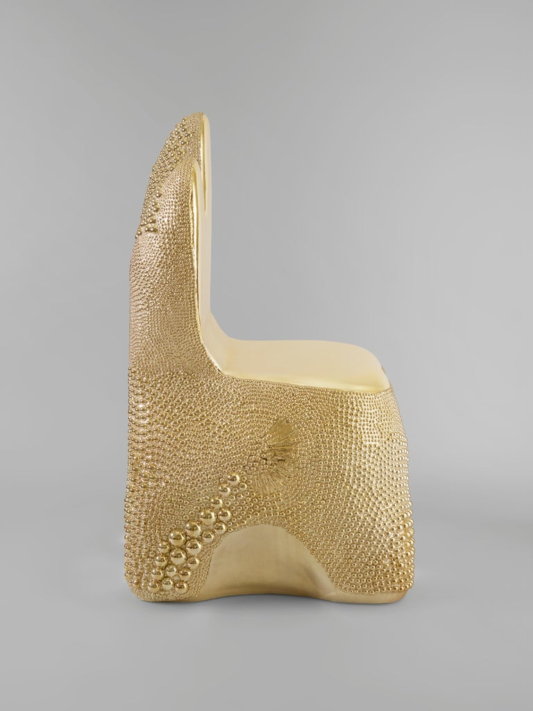Wood 'Stardust' Side Chair by Pia Maria Raeder For Sale