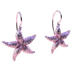 Starfish 10kp Gold Earrings