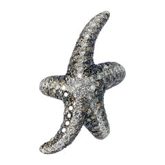 Starfish Fashion Diamond Ring