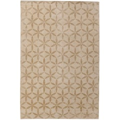 Starflower Hand-Knotted 10x8 Rug in Wool and Silk by Edward Barber & Jay Osgerby