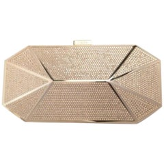 Stark Put A Ring On It Crystal Box Clutch Bag
