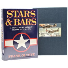 """""""Stars & Bars, A Tribute to the American Fighter Ace,"""" Signed by Thirteen Aces"""