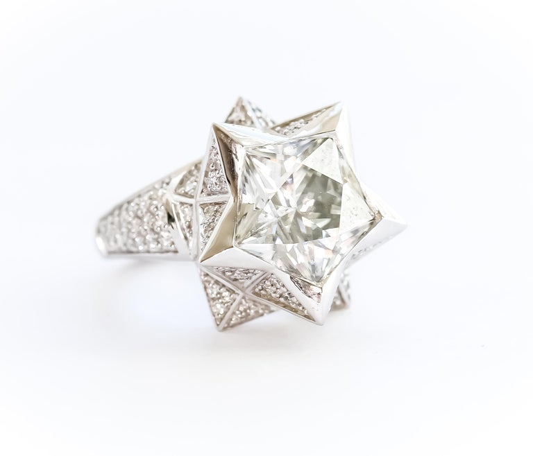 Star Engagement Ring For Sale 8