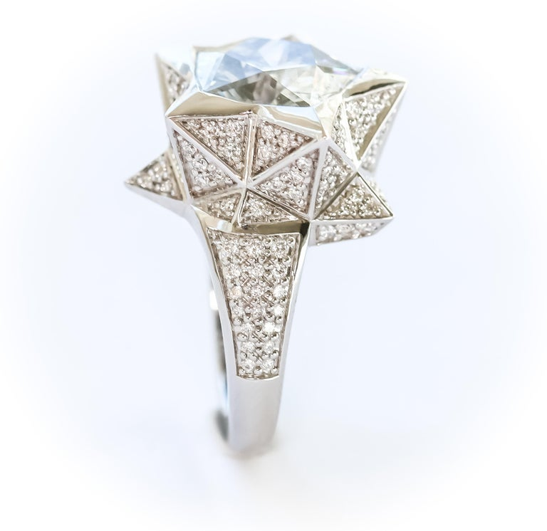 Star Engagement Ring For Sale 9