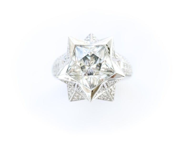 Star Engagement Ring For Sale 2