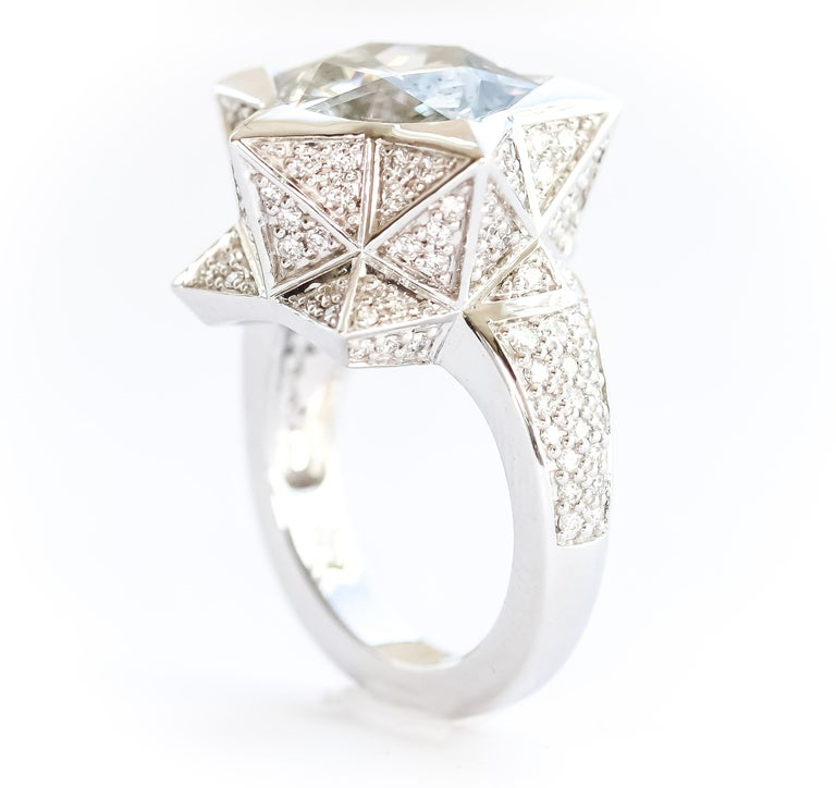 Star Engagement Ring For Sale 3
