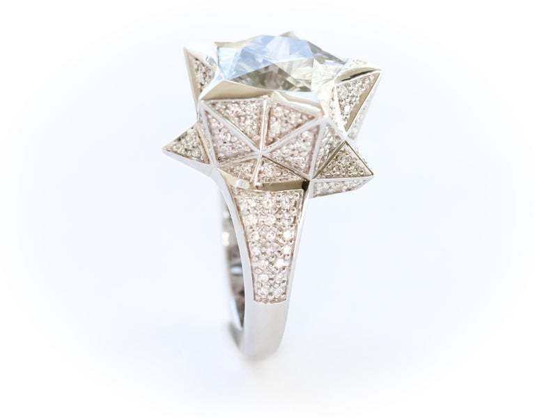 Star Engagement Ring For Sale 6
