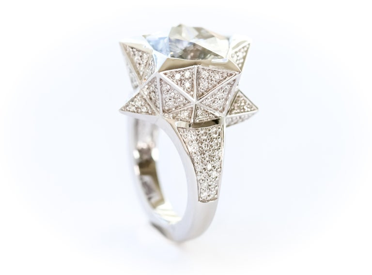 Star Engagement Ring For Sale 7