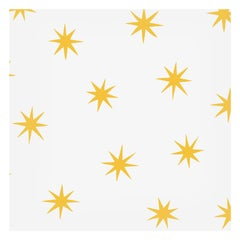 Stars in Gold on Smooth Paper